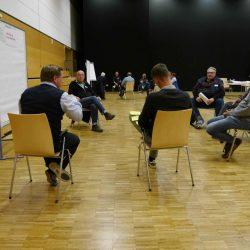 Parteiworkshop mit Dennis Berger in der Lindenhalle in Wolfenbüttel
